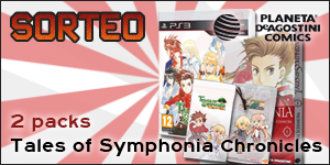 Sorteo: Dos packs de Tales of Symphonia Chronicles (PS3), manga y funda con Planeta DeAgostini Cómics