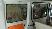 El coche promocional de la visual novel Rewrite Harvest festa! (15)