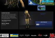 Posible filtración que muestra a Kat de Gravity Rush como luchadora de Playstation All Star Battle Royale