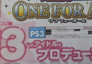 Anunciado THE IDOLM@STER: One For All para PlayStation 3