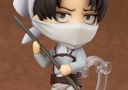 Nendoroid Levi Cleaning Ver. 03