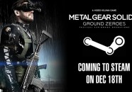 Metal Gear Solid Ground Zeroes saldrá el 18 de diciembre en Steam