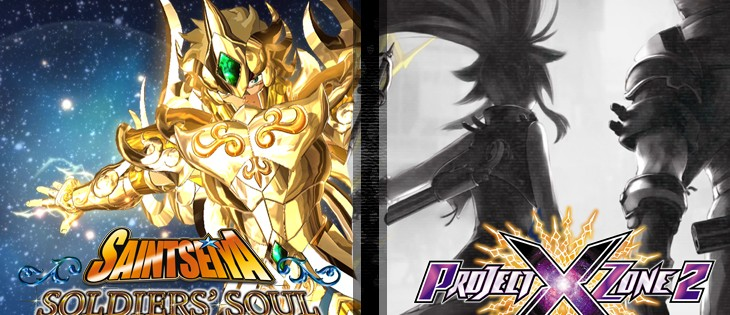 Saint Seiya: Soldiers' Soul y Project x Zone 2: Brave New World lle...