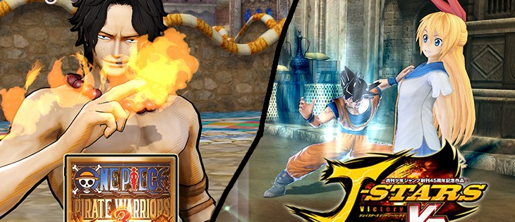 Impresiones: J-Stars Victory VS + y One Piece Pirate Warriors 3