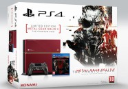 La PlayStation 4 limitada de Metal Gear Solid V The Phantom Pain llegará a Europa