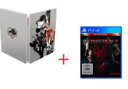 Metal Gear Solid V The Phantom Pain tendrá una caja metálica con sus reservas