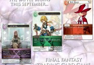 final fantasy trading card juego cartas