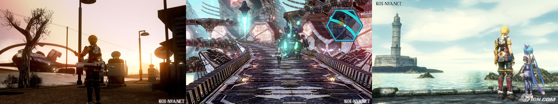 Star Ocean: The Last Hope - scenary