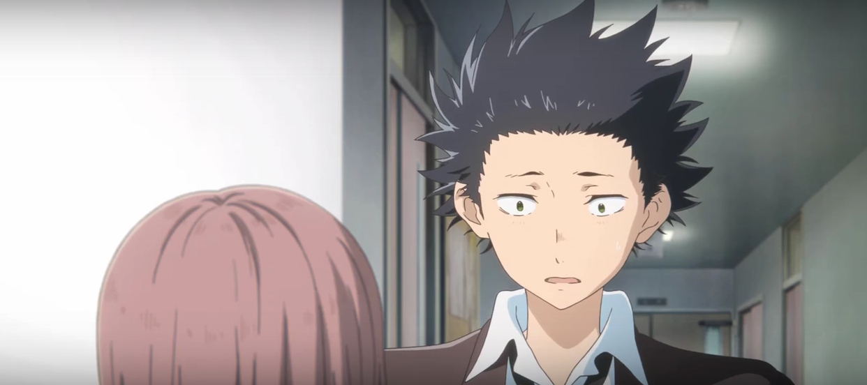 Nuevo tr iler de la pel cula animada de koe no katachi for Koi no katachi
