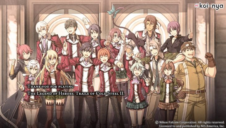 Analisis Trails of Cold Steel II ps3 ps vita koi nya sen no kiseki - final