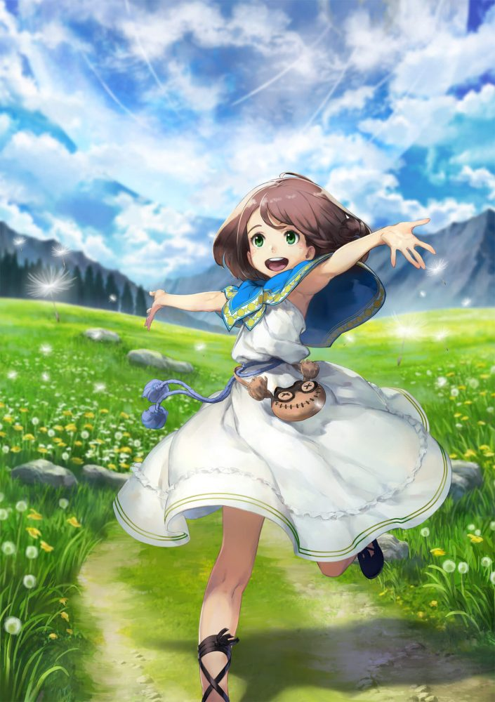Lost Song anime imagen promocional Rin
