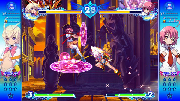 Examu intentará traer Arcana Heart 3 Love Max Six Stars!!!!!! a PC