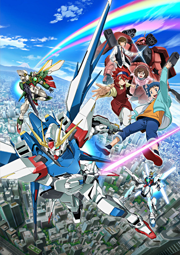 Gundam Build Fighters anime