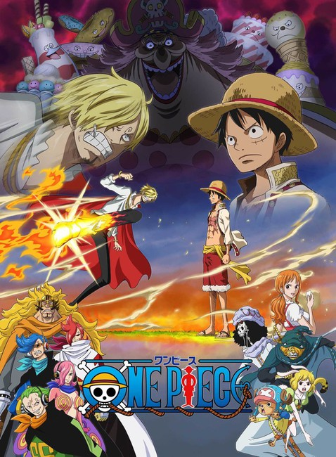 One Piece anime Whole Cake Island imagen