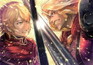 Radiant Historia Perfect Chronology muestra personajes de Alistel y Granorg 1