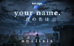 Análisis: Your Name. (Kimi no na wa.)