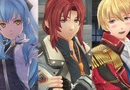 The Legend of Heroes Trails of Cold Steel III muestra a Olivert, Tio y Orlando