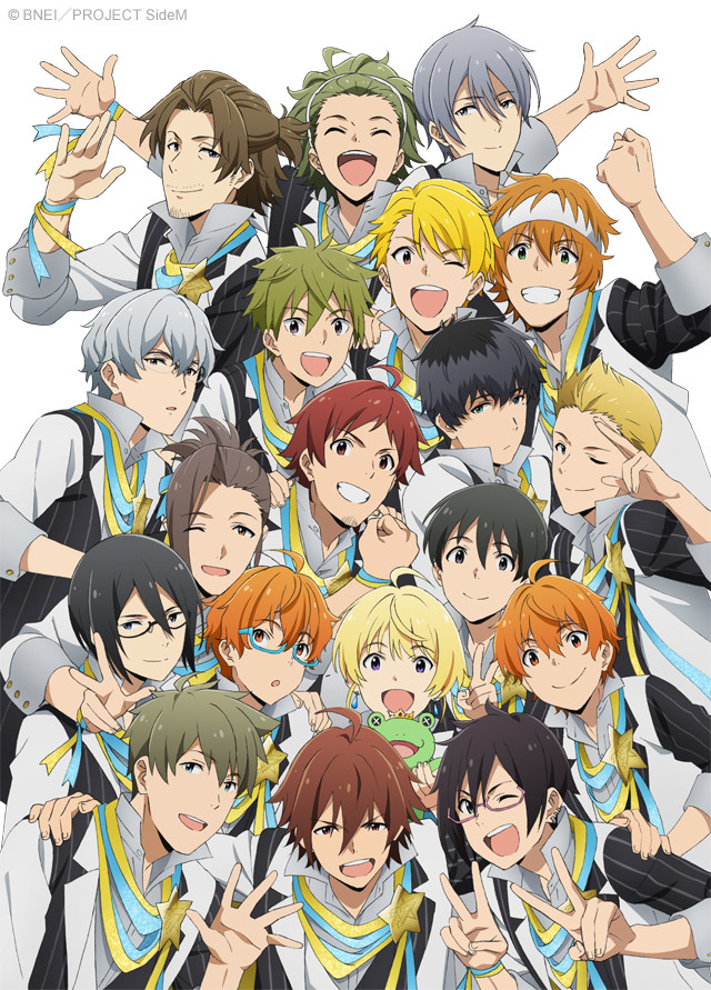 THE IDOLMSTER SideM anime