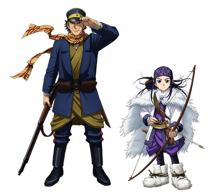Golden Kamuy personajes
