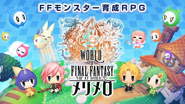 Primer tráiler de World of Final Fantasy- Meli-Melo