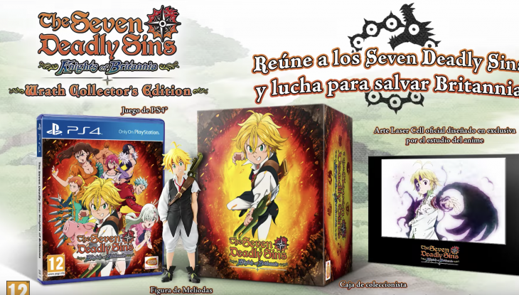 The Seven Deadly Sins Knights of Britannia anuncia edición para coleccionistas
