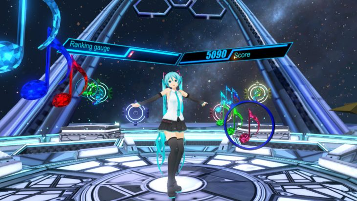 Hatsune Miku VR anunciado para PC a traves de Steam 02