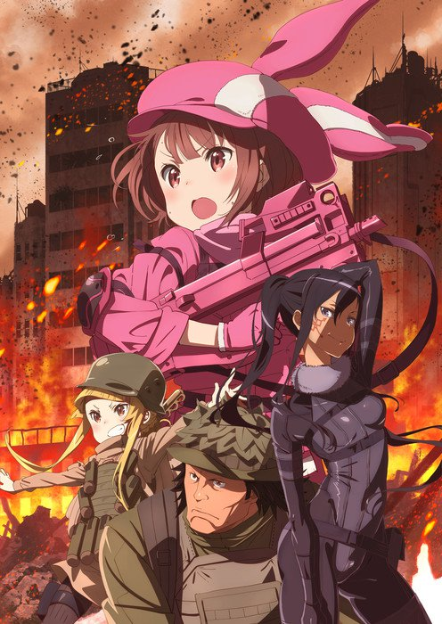 Sword Art Online- Alternative Gun Gale Online
