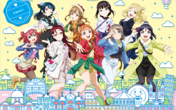 Love Live! Sunshine!! The School Idol Movie Over The Rainbow lanza un póster con las nueve Aqours