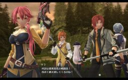 The Legend of Heroes: Trails of Cold Steel IV muestra a Towa, Sara y Aurelia
